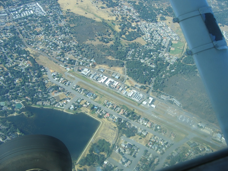 Cameron Park Airport(O61) and Residences.